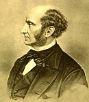"JohnStuartMill    One of the first liberals to use utilitarianism to reason for rights rather than simply saying ""god wills it""."